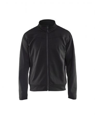 Blaklader 3362 Sweatshirt With Full Zip (Black/Dark Grey)